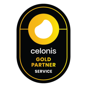 Celonis Gold Partner logo